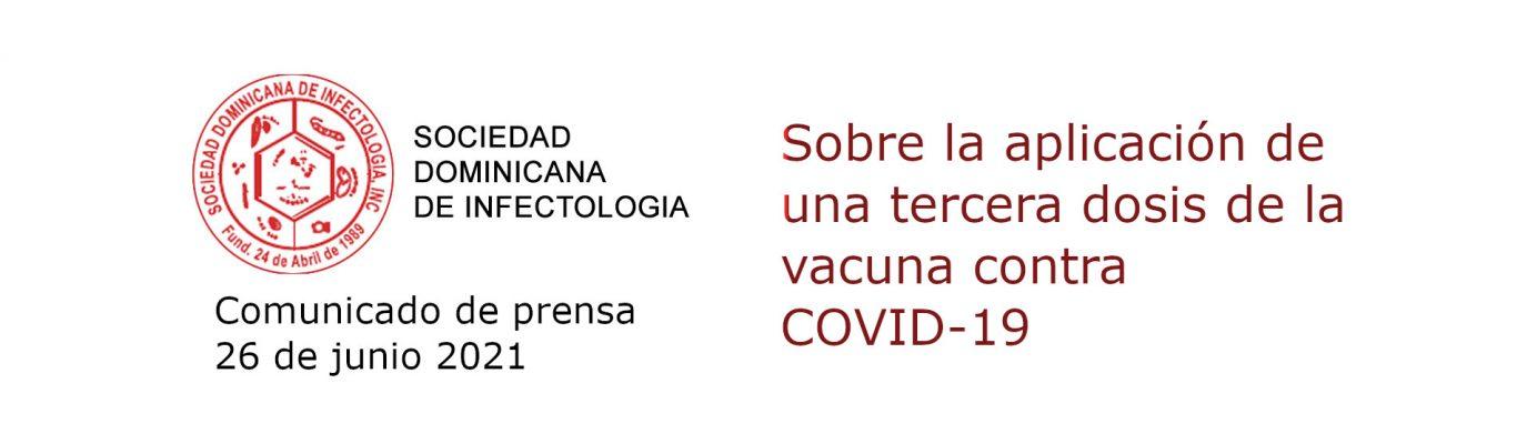 Sobre la aplicación de una tercera dosis de la vacuna contra COVID-19
